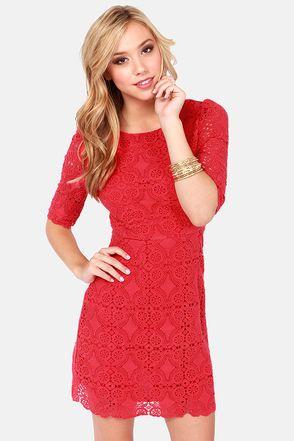 Red Dress For Juniors Photo Album - Reikian