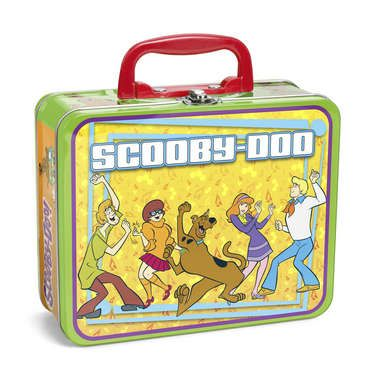 Scooby Doo 100 Pc Puzzle In Lunchbox Tin Picture