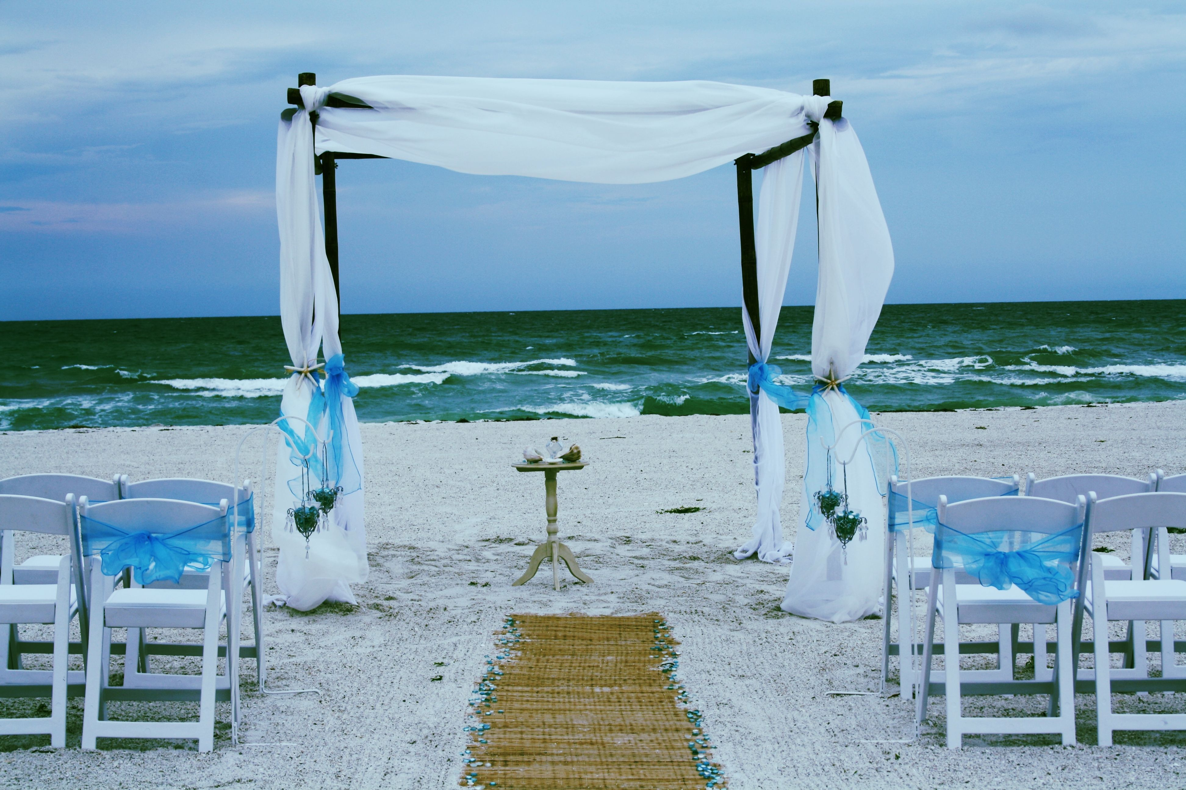 Enjoy The Privacy Of A Beach House Ceremony & Reception At