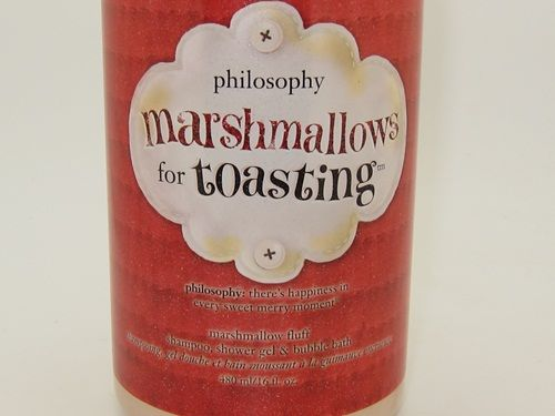 Philosophy Marshmallows For Toasting. One of my favorite scents ever!