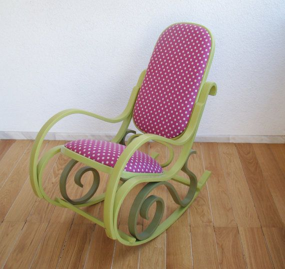 /rocking-chair-upcycled-furniture-green