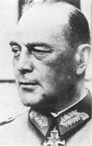 General der Kavallerie  Rudolf Koch-Erpach (09 April 1886 - 27 November 1971), 8 Infanterie Division,  LVI Panzerkorps,  1 Armee.