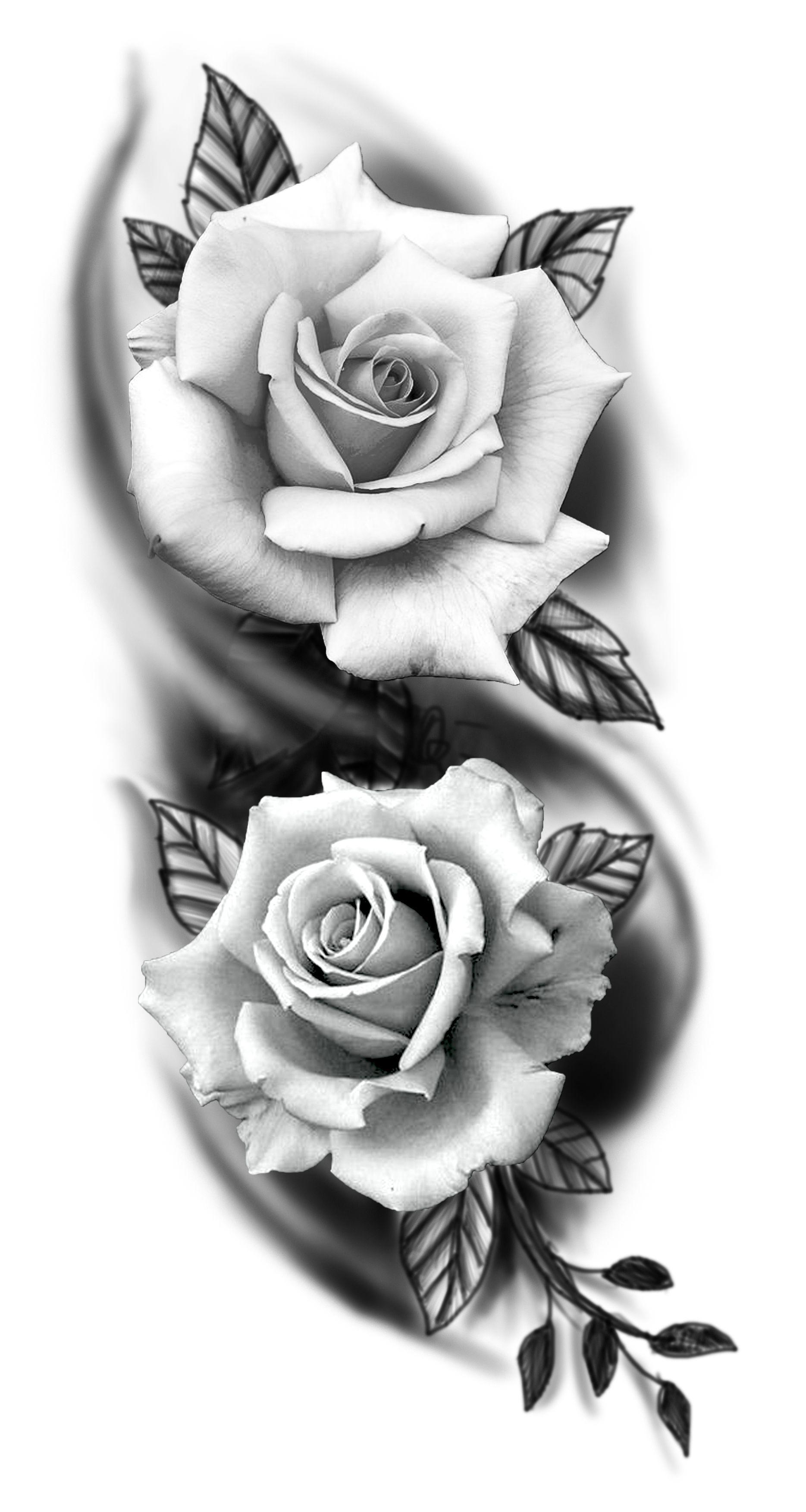 Pin By Kris On Projekty 2019 Rose Tattoos For Men Realistic Rose Tattoo Rose Tattoos For Women