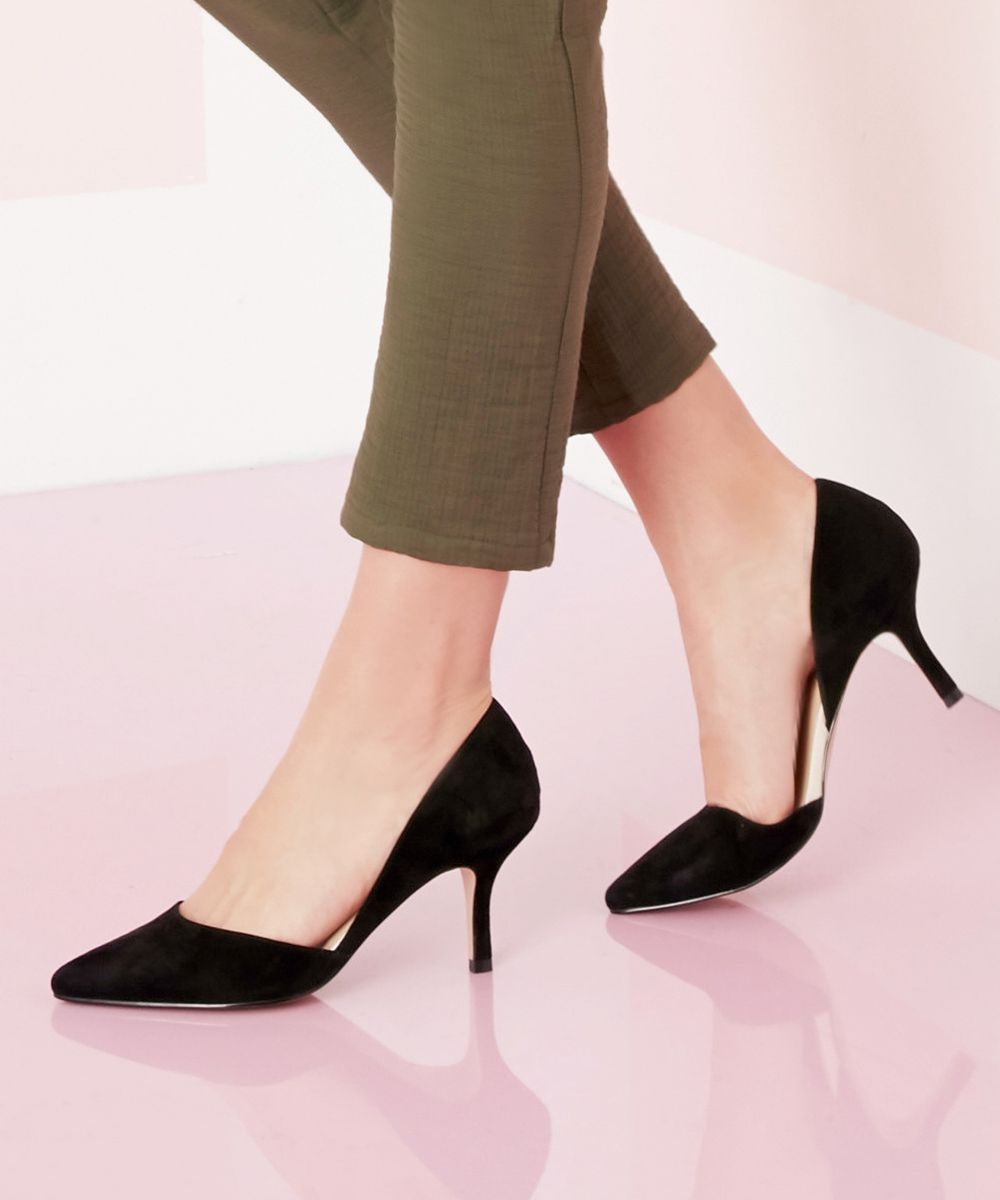 buy cheap genuine sale choice Sole Society Suede Mid-heel Pumps - Jenn fashionable cheap pick a best vnvPlYml