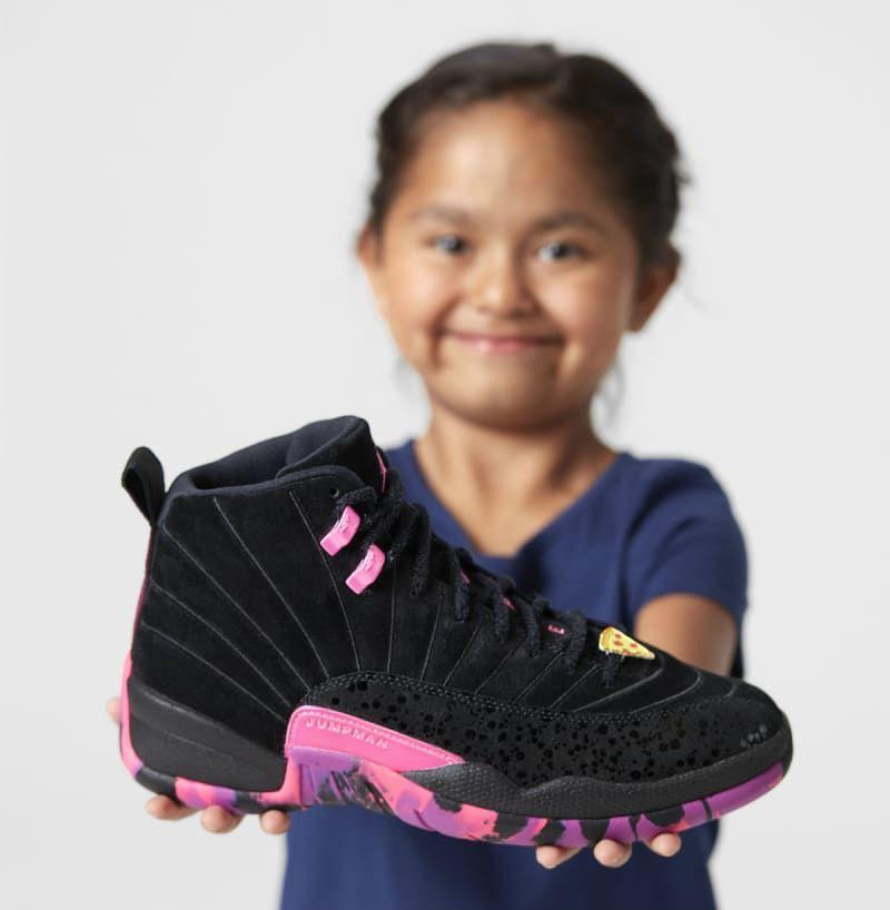 683bfefd9a6013 Air Jordan 12 Doernbecher Carissa Navarro Release Date AH6987-023 ...
