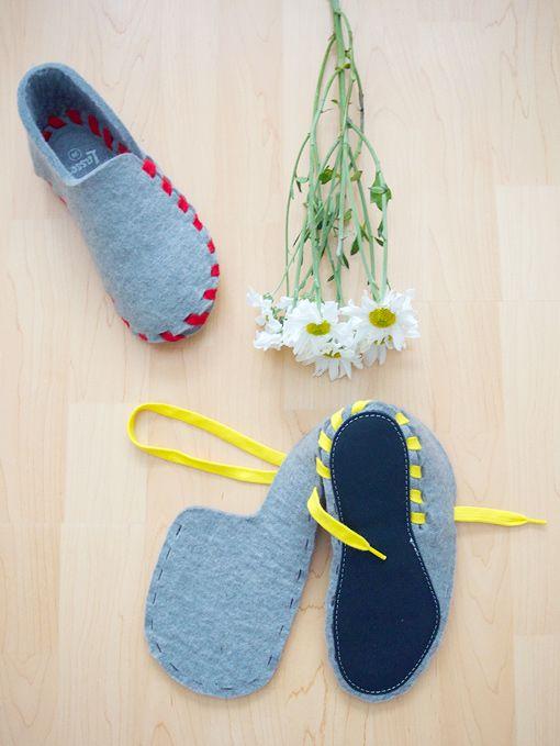 Lasso Wool Slippers #fab