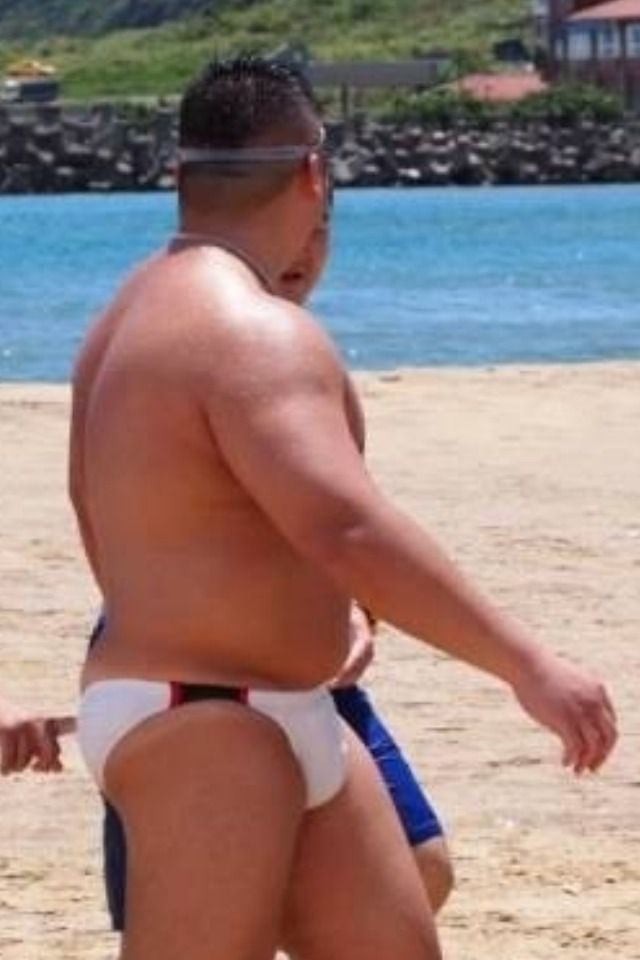 Men in speedos Chubby thongs