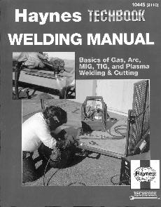 Download free pdf on Welding Manual Haynes Techbook eBook