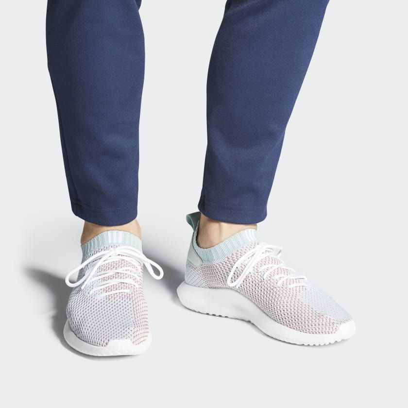 Tubular Shadow Primeknit Shoes White AC8796  db1aa405b