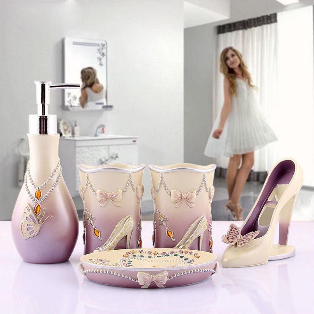 Bathroom Accessories Sets Modern Bath Accessory Sets Promotion Shop ...