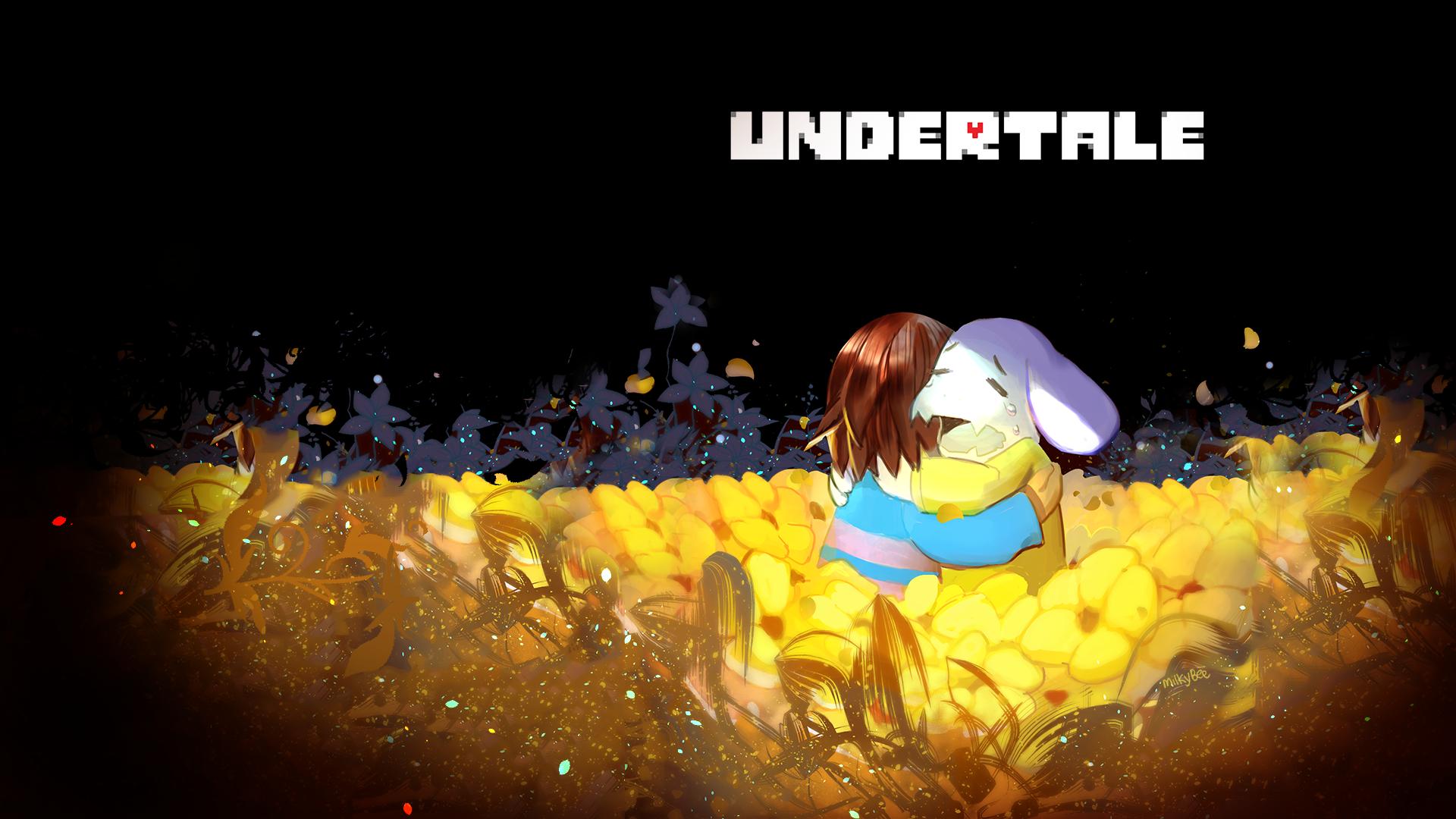 Video Game Undertale Asriel Undertale Frisk Undertale Wallpaper