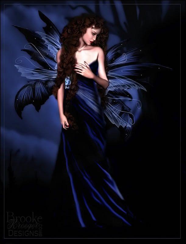 beautiful blue fairies | Beautiful Night Butterfly Fairy ...