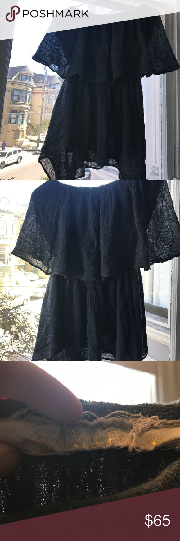 jens pírate booty tube dress   bandeau dress, gray color and blue grey
