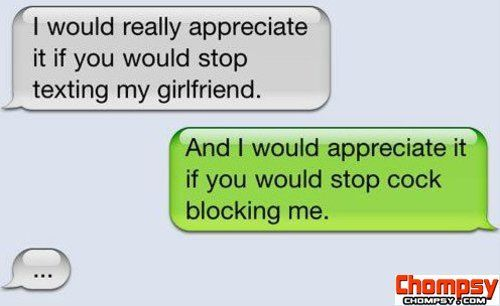 Stop texting my girlfriend   Funny   Boyfriend humor