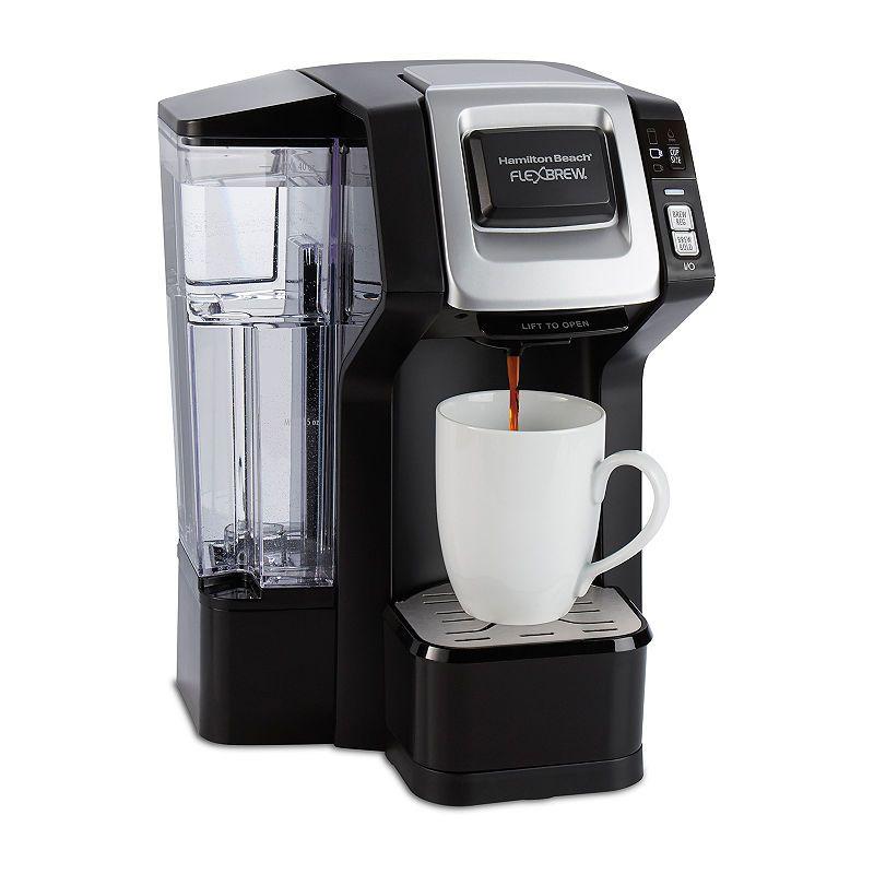 Hamilton Beach Flexbrew Single Serve Coffeemaker With Removable Reservoir Single Cup Coffee Maker Single Serve Coffee Coffee Maker
