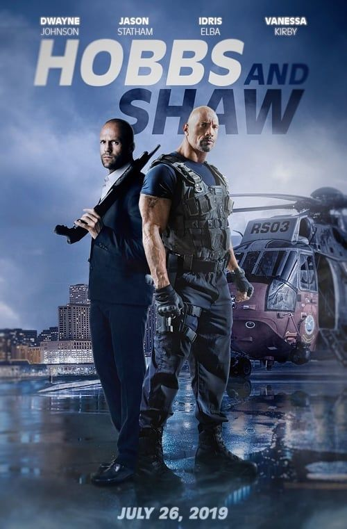 [PG-13] Fast & Furious Presents: Hobbs & Shaw (2019) Dual Audio Blu-Ray - 480P | 720P - x264 - 500MB | 1.5GB - Download & Watch Online  Movie Poster - mlsbd