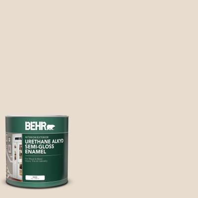 Behr 1 Qt Or W11 White Mocha Semi Gloss Enamel Urethane Alkyd Interior Exterior Paint Exterior Paint Interior Paint Behr