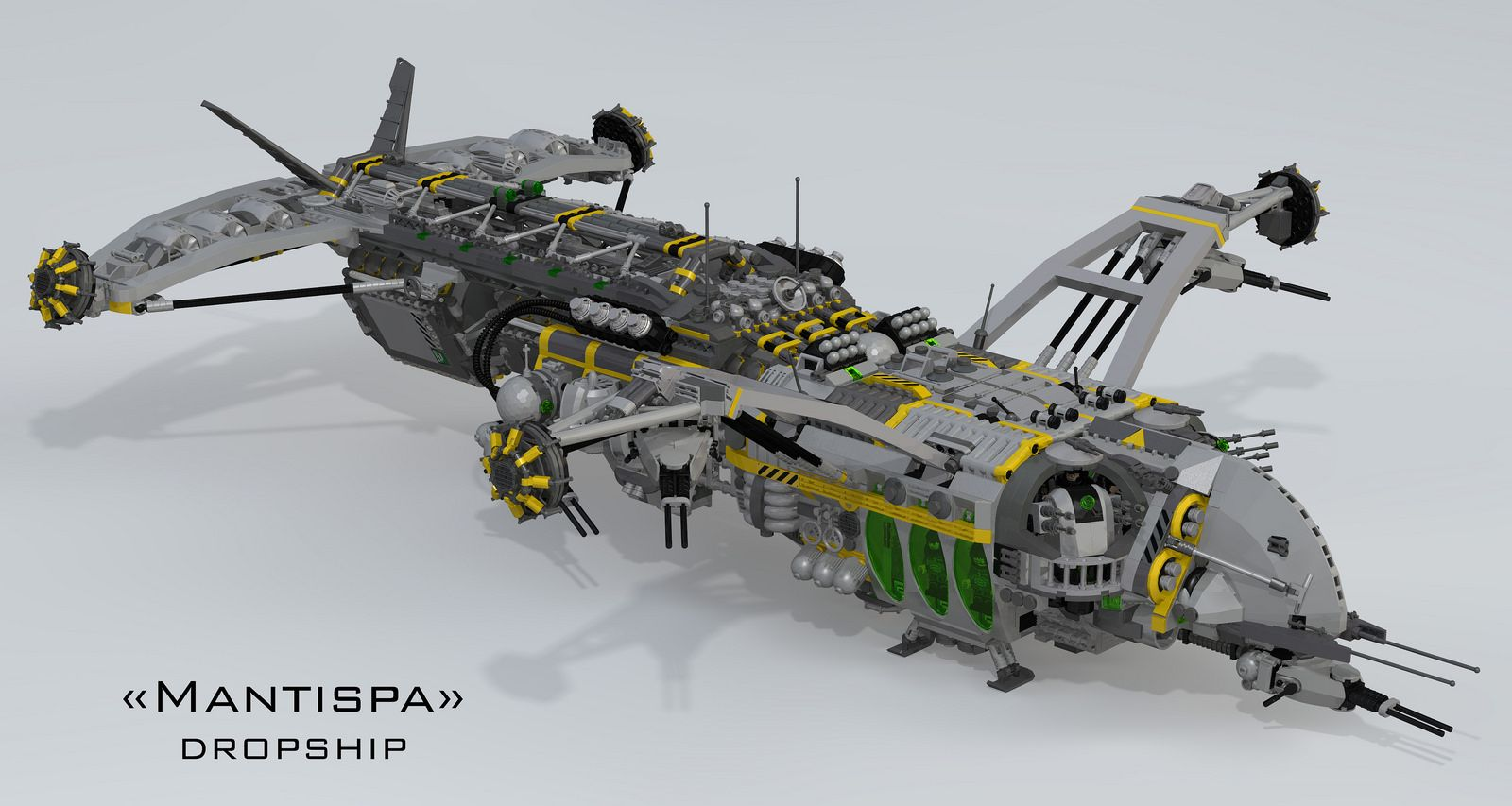 """Mantispa"" Dropship 