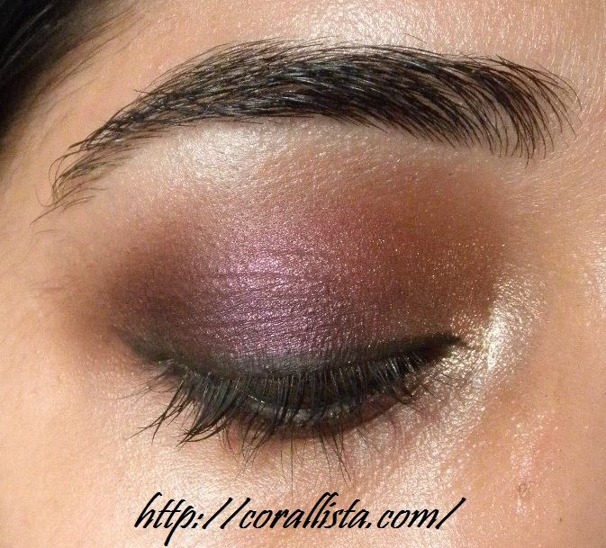 Mac Eye Shadow Sketch Review Swatch And Eotd Makeup Inspiration