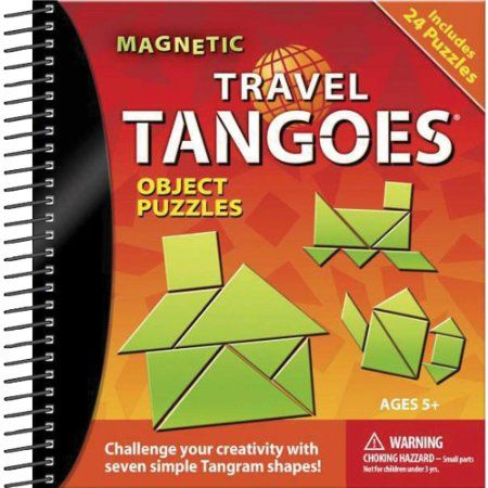 Amazon.com : Travel Tangoes-Objects : Brain Teaser Puzzles : Toys & Games