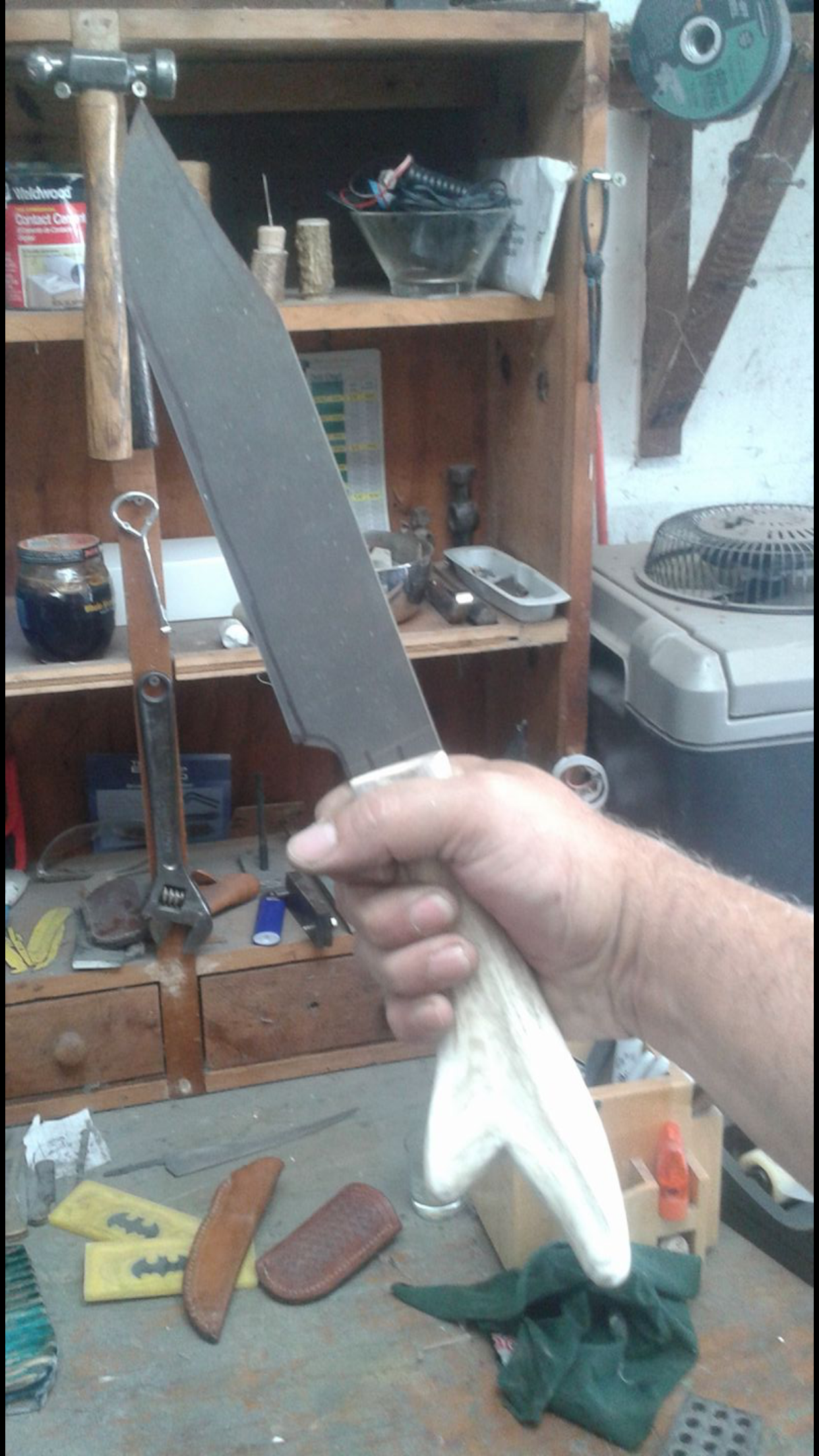 This is a reproduction of the legends of the fall knife made by Arts ...