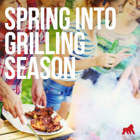 It's finally #Spring! What are you #grilling up to welcome warmer weather?