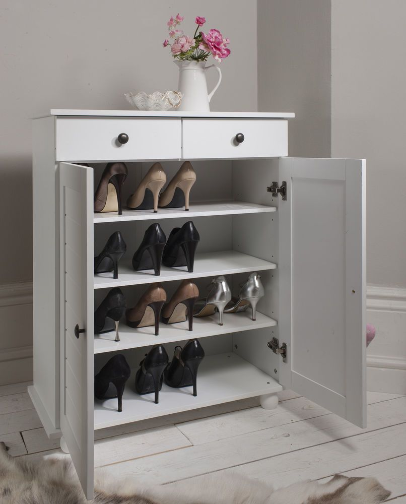 Perfect Noa And Nani Heathfield Shoe Storage Unit In White Shoe Cabinet