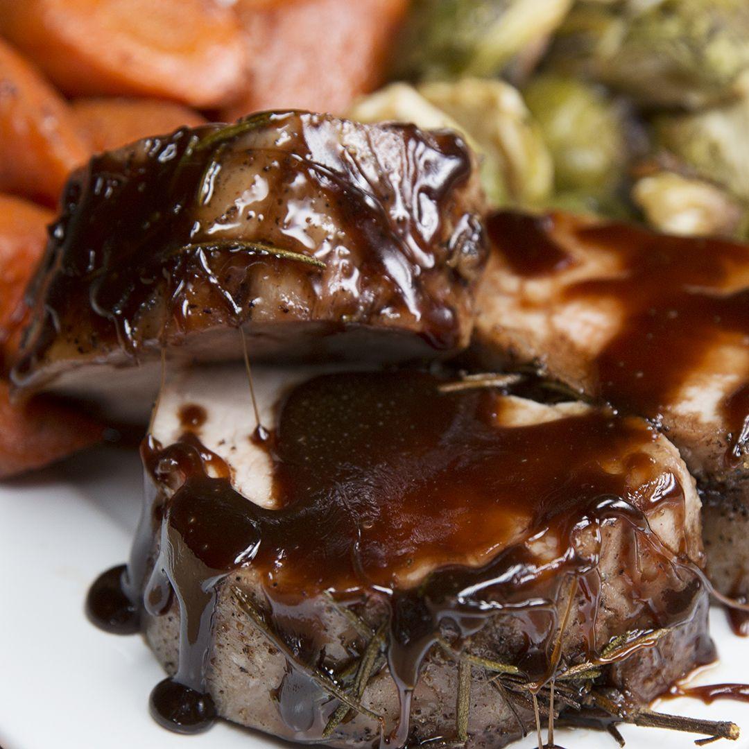 Imagini pentru Maple Glazed Pork & Roasted Veggies
