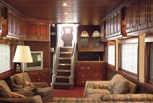 Private Rail Car Observatory Lounge Rail Car Luxury Train Train Travel