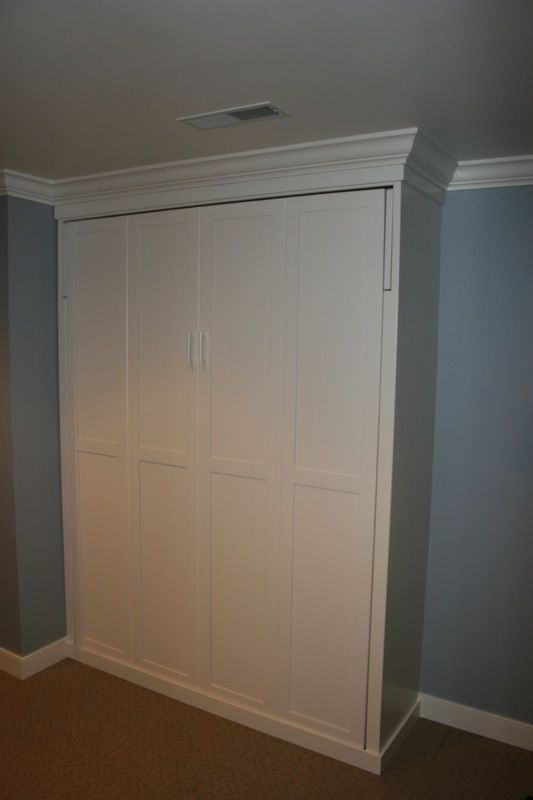 Amish Made Murphy Beds | Lancaster County PA | bedroom | Pinterest