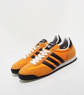 adidas dragon noir orange