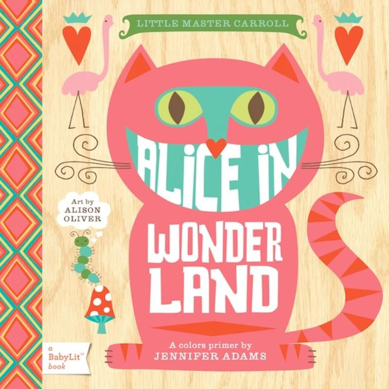 alice in wonderland board book for little ones at darling clementine