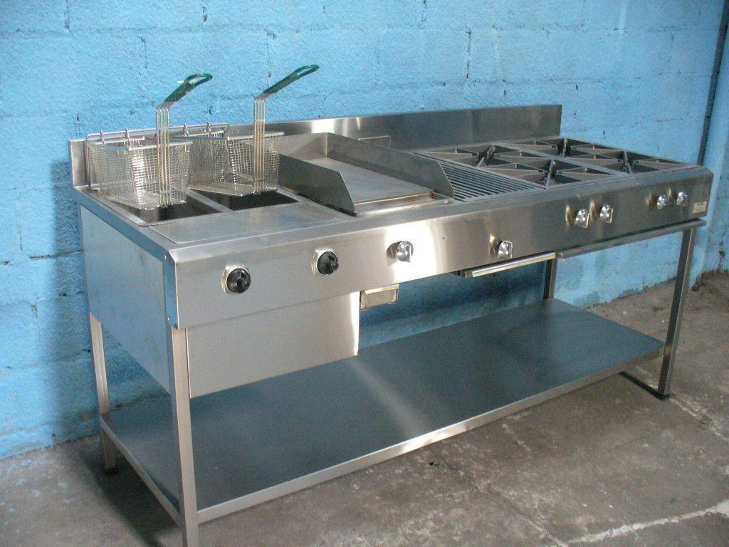 Tecnifrio Estufa Industrial Master Plancha En Acero Cocinas De