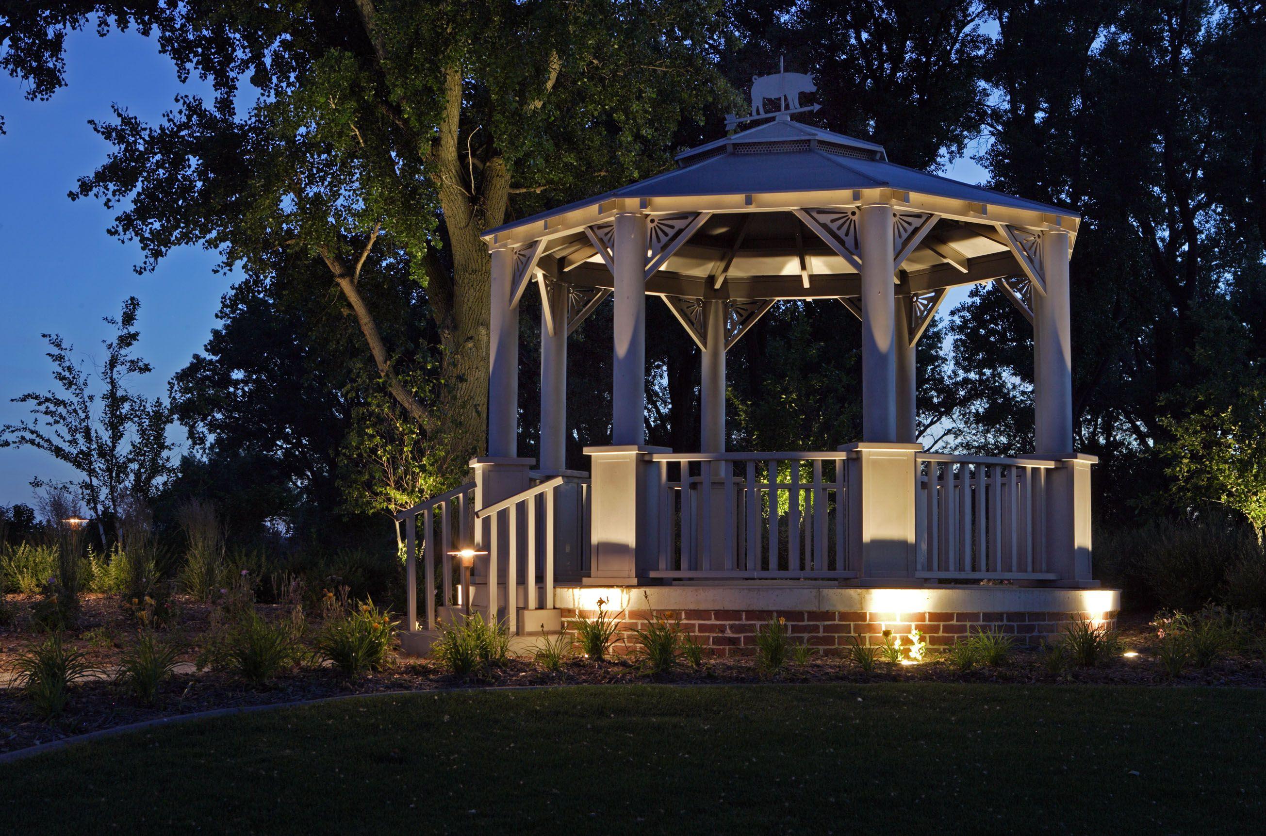Specialty Lighting Outdoor Gazebos Gazebo Lighting Landscape Lighting