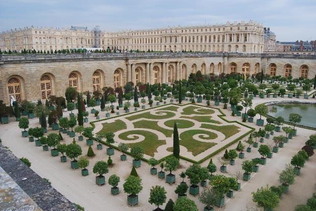 Chateau de versailles et jardins du roy versailles - Jardin du chateau de versailles gratuit ...