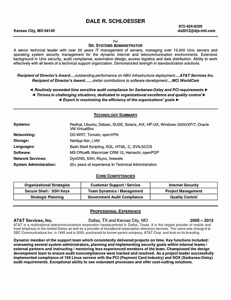 System Admin Resume Example Luxury System Administrator Resume Includes A Snapshot Of The Sk System Administrator Free Resume Template Word Free Resume Samples