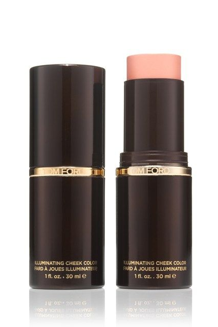 Holiday packing tips - give cheeks a healthy holiday sheen with Tom Ford blush stick in rose gold, perfect for summer nights.