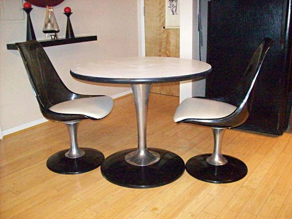 Chromcraft Lucite Chair and Table Set - $300 in Downtown ...