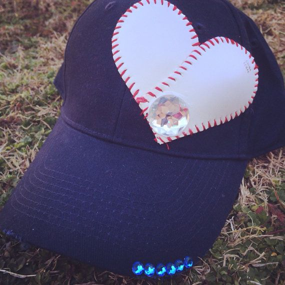 Baseball hat  by KatrinasKreations23 on Etsy