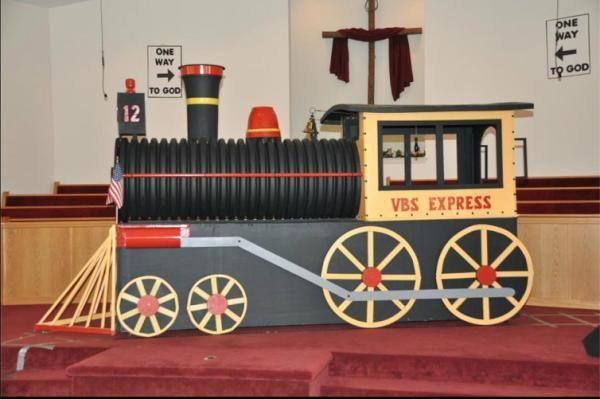 VBS Train Decor Idea  Vbs, Train decor, Vbs themes