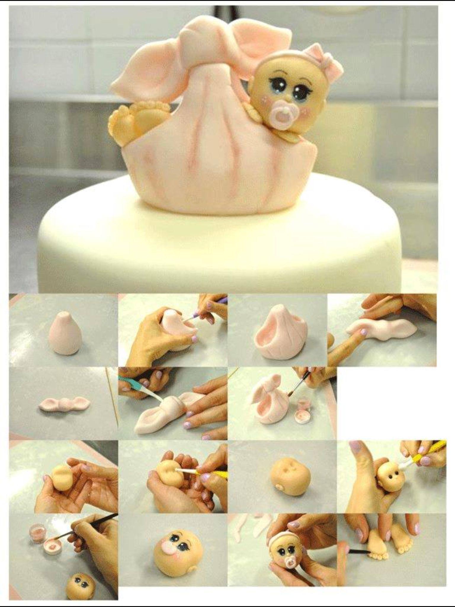 Stork Cake Topper Tutorial Cake Recipe