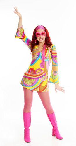miliumaidéias: Festa anos 70 | Fantasias femininas, Roupas