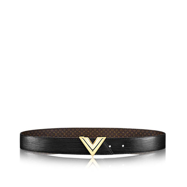 939048ba830f LV Essential V 35MM Reversible Monogram Canvas Belts