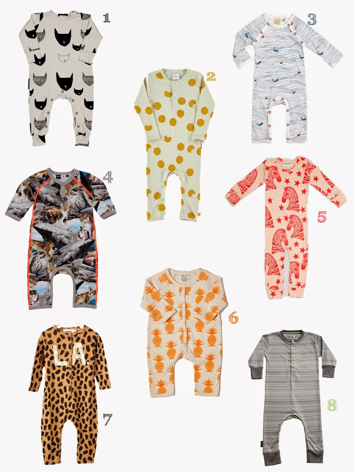 Favorite Jumpsuit Roundup The cutest baby jumpsuit in online
