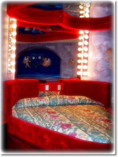 Or Maybe A Heart Shaped Waterbed With A Prettier Bedspread Though Of Course Lol Water Bed Bed Spreads Home Decor
