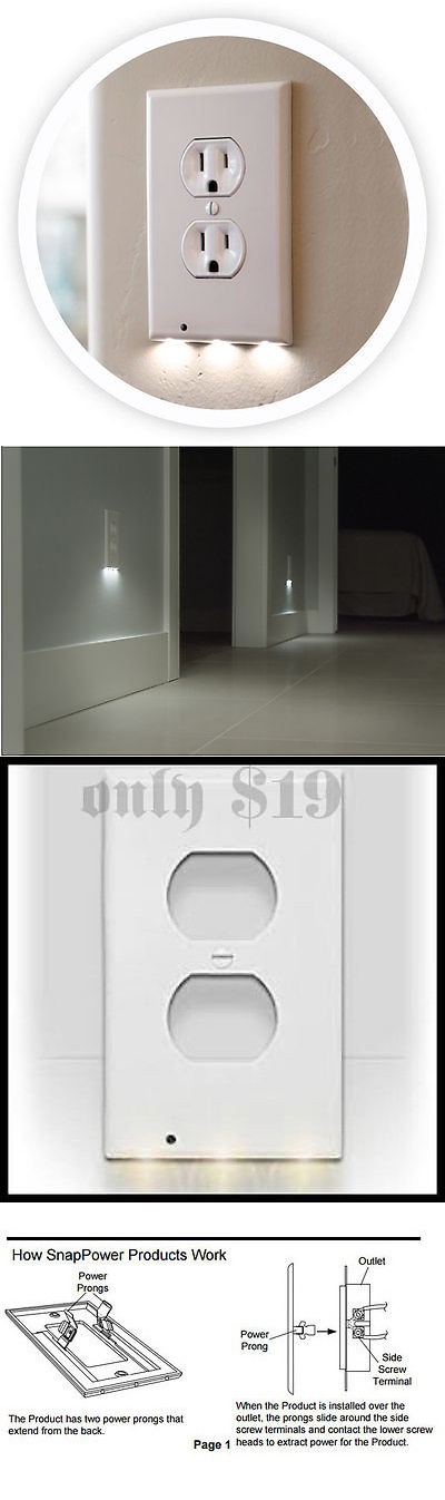 Outlets and Receptacles 41985: 10-Snap Power Guidelight Outlet ...