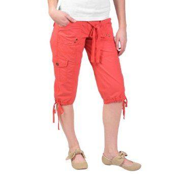 Hailey Jeans Co Juniors Low Rise Cargo Capri Pants Hailey Jeans Co ...