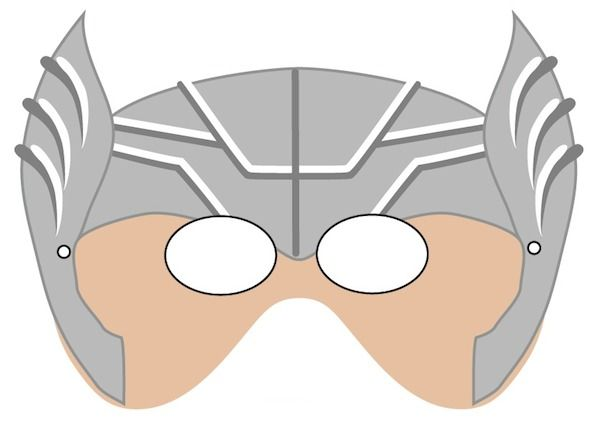 Printable Halloween Masks  Festa InfantilMeninos