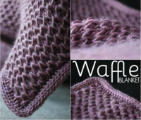 Here I am! It's been a bit of a difficult summer with the grand finale of spending a week in the hospital. But life is that way some times, I'm on the mend and I had finally written the Waffle Blanket Pattern before I got sick. So here it is! CLICK ON THE PICTURE TO DOWNLOAD I loved making this blanket and it really went quite fast with the chunky yarn. The honeycomb stitch makes for a squishy, light texture and is fun to work. Just click on the picture to download the pattern! And as usual…
