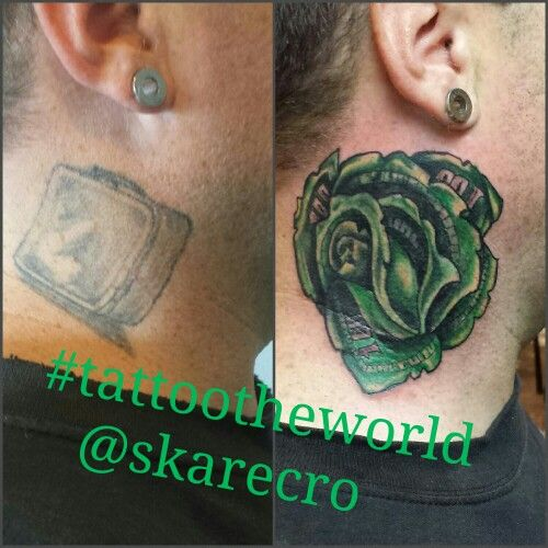 Tattootheworld Art Lunch Box Tattoo Cover Up With A Color Money